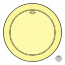 """Remo 22"""" Colortone Yellow Powerstroke P3 Batter Bass Drumhead"""