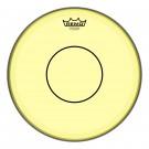 "Remo 14"" Colortone Yellow Powerstroke P77 Snare Batter Drumhead"