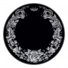 "Remo 22"" Powerstroke P3 Bass Drumhead - Tattoo Serpentrose on Black"