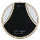 "Pro Logix ""Ostinato"" Signature Johnny Rabb 12"" Practice Pad with Rim, Side Ostinato Pads & Resistance Insert"