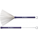 Vic Firth HB Heritage Brush Purple Rubber Handle Wire Brush