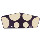 Vic Firth - HHPQL Heavy Hitter Quadropad – large