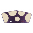 Vic Firth - HHPQS-L Laminate for Quadropad – small