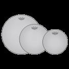 Remo White Silentstroke Fusion Plus Mesh Head Tom Pack
