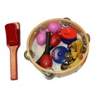 Percussion Plus 6-Piece Percussion Set in Carry Bag