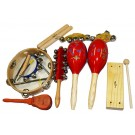 Percussion Plus 9-Piece Percussion Set in Carry Bag