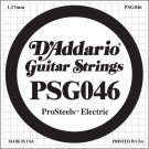 D'Addario PSG046 ProSteels Electric Guitar Single String .046