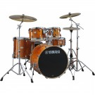 Yamaha Stage Custom Birch Euro Drum Kit Package w/Hardware & Cymbals in Honey Amber