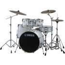 "Yamaha Stage Custom Birch 22"" Euro Drum Kit in Pure White"
