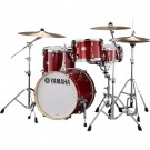 Yamaha Stage Custom Bop 4pc Drum Kit in Cranberry Red