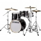 Yamaha Stage Custom Bop 4pc Drum Kit in Raven Black