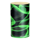 "Remo - SR-0204-41 Green and Clean 4"" Bossa Shaker.  Green & Black"