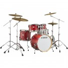 "Yamaha Tour Custom Maple 22"" Euro Drum Kit in Candy Apple Satin"