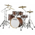"Yamaha Tour Custom Maple 22"" Euro Drum Kit in Chocolate Satin"