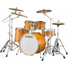"Yamaha Tour Custom Maple 22"" Euro Drum Kit in Caramel Satin"