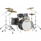 "Yamaha Tour Custom Maple 22"" Euro Drum Kit in Licorice Satin"