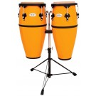 """Toca 10"""" & 11"""" Synergy Synthetic Conga Set in Yellow"""