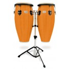 "Toca 11 & 11""-3/4"" Players Series Wooden Conga Set in Amber"