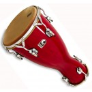 Toca Large Bata Drum Lya in Bright Red Lacquer Finish