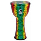 "Toca Lightweights Series Hand Drum 10"" in Rasta"
