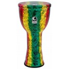 "Toca Lightweights Series Hand Drum 12"" in Rasta"