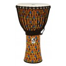 "Toca Freestyle 2 Series Djembe 14"" in Kente Cloth with Bag"