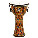 "Toca Freestyle 2 Series Mech Tuned Djembe 10"" in Kente Cloth"