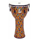 "Toca Freestyle 2 Series Mech Tuned Djembe 12"" in Kente Cloth"