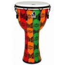 "Toca Freestyle 2 Series Mech Tuned Djembe 14"" in Spirit Pattern with Bag"