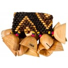 Toca Wood Rattle For Ankle/Wrist Hand Percussion Sound Effect