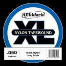 D'Addario TWB050 Nylon Tape Wound Bass Guitar Single String .050