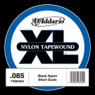 D'Addario TWB050M Nylon Tape Wound Bass Guitar Single String .050