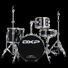 "DXP 18"" 4 Pce Transit Series Drum Kit in Black"