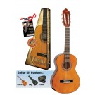 Valencia VC101K - 1/4 Size Classical Guitar Package - Gloss Natural