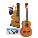 Valencia VC102K - 1/2 Size Classical Guitar Package - Gloss Natural