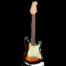 SX - VES12TS  ½ size Vintage Style Electric Guitar. Tobacco Sunburst