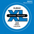 D'Addario XLB042 Nickel Wound Bass Guitar Single String Long Scale .042