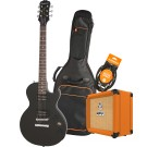 Epiphone Les Paul Special VE CHV Electric Guitar Pack with Orange Crush 12 Amplifier, Armour Gig Bag and Lead