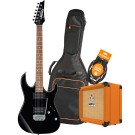 Ibanez RX22EXBKN Electric Guitar Pack with Orange Crush 12 Amplifier, Armour Gig Bag and Lead
