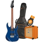 Ibanez RX22EXBL Electric Guitar Pack with Orange Crush 12 Amplifier, Armour Gig Bag and Lead