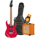 Ibanez RX22EXRD Electric Guitar Pack with Orange Crush 12 Amplifier, Armour Gig Bag and Lead