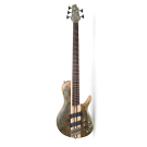 Cort A5 SCMS 5-String Multiscale Bass in Open Pore Trans Grey with Case