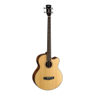 Cort AB850F Acoustic Electric Bass Guitar in Natural