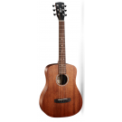 Cort AD Mini Mahogany Travel Size Acoustic Guitar