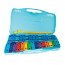 Angel AX25K Glockenspiel 25 Coloured Notes in Blue Case