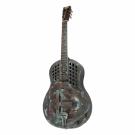 Bourbon Street Tricone Steel Guitar in Copper in Deluxe Case