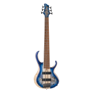 Ibanez BTB846 6 String Electric Bass in Cerulean Blue Burst Low Gloss