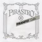 Pirastro Piranito 4/4 Cello String Set- Steel