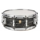 "Ludwig 14"" x 5"" Classic Maple Snare Drum in Vintage Black Oyster"
