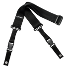 DiMarzio DD2200 2 Inch Nylon Cliplock Strap in Black